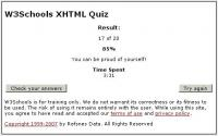 XHTML-test